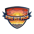 fire pit pig icon